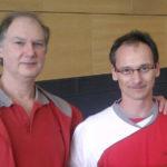 Sifu Rolf Gräsel und Sifu Michael Schwarz